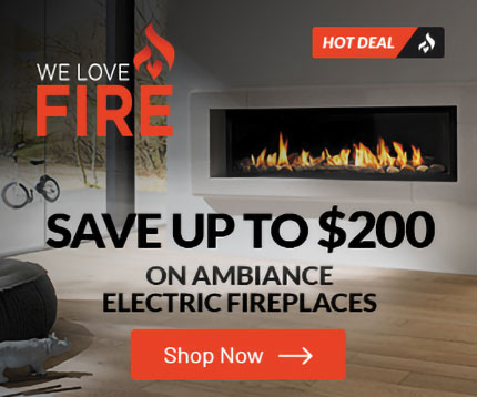 Shop for Ambiance Electric Fireplaces