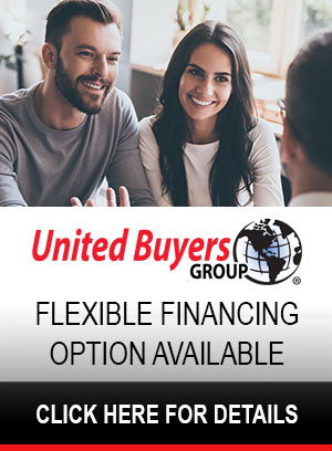 UBG Finance Program offered by Synchrony Bank